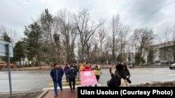 Участники марша «За законность!», 7 февраля 2021 г. Фото организаторов.