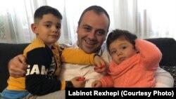 Labinot Rexhepi dhe fëmijët e tij: Reisi dhe Rea