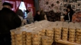 Hungary - a restaurant in Budapest offers free food during the economic crisis and COVID-19 pandemic - AFP