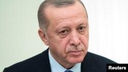 Președintele Turciei, Recep Tayyip Erdogan.