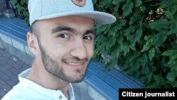 23 яшар Сирожиддин Қуронбоев полициячилар устидан шикоят қилган