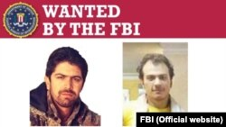 "U.S. -- This posterof the FBI shows the wanted poster for Hooman Heidarian, 30, and Mehdi Farhadi, 34, stole hundreds of terabytes of data, including national security intelligence, aerospace data, unpublished scientific research, and ""non-military"
