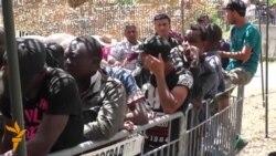 15.07.2015 - Кампови, мигранти и протести