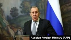Serghei Lavrov, ministrul de externe al Rusiei, la Moscova, octombrie 2020.