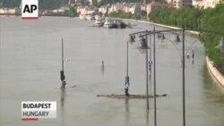 Повінь у столиці Угорщини відступає