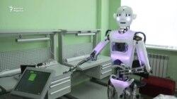 Путин мен Назарбаевты робот қарсы алмақ