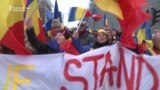 Brussels Rally Urges Moldova To Join Romania