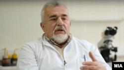 Професор Никола Пановски, микробиолог