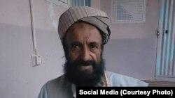 Afghan poet and historian Abdullah Atifi (file photo)