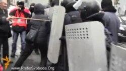 Внутрішні війська не пустили чорнобильців до Верховної Ради