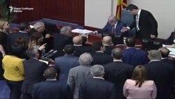 """""""Пресметка"""" меѓу Груевски и Џафери за Законот за јазиците"""