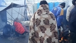 Migranti u kampu 'Vučjak' četvrti dan odbijaju hranu