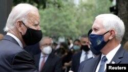 Presidenti i zgjedhur i Shteteve të Bashkuara, Joe Biden dhe zëvëndëspresidenti aktual, Mike Pence