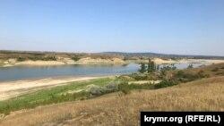 Нижняя часть Белогорского водохранилища