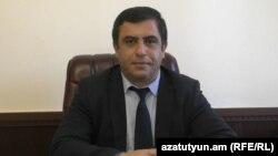 Губернатор Лорийской области Армении Арам Хачатрян