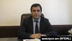 Armenia - Lori Governor Aram Khachatrian.