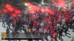 Протест против базы НАТО в Ульяновске