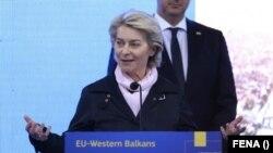 Претседателката на Европската комисија, Урсула фон дер Лајен