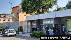 Ulaz u zgradu Suda i Tužilaštva BiH, 15. juli 2021.