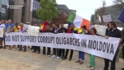 Moldovan Expats Protest Against Government In Chisinau