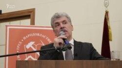 Павел Грудинин мәктәптә бер телне дә мәҗбүри укытуны хупламый