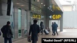 В аэропорту в столице Таджикистана Душанбе. 5 января 2021 года.