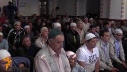 18.05.2015 Демонстранти во Скопје, Кримски татари...