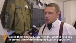 Russian-Made Uniforms Aid Separatists In Ukraine