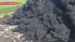 В пожаре на нефтебазе под Киевом погибли 4 человека