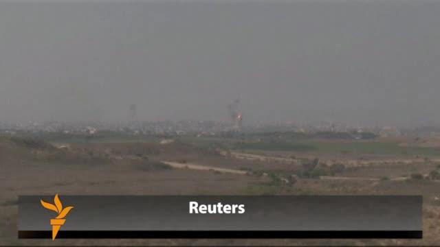 Izraelska raketna paljba na položaje Hamasa u Gazi