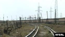 Հայաստան - Երկաթգիծը հայ - թուրքական փակ սահմանի մոտ