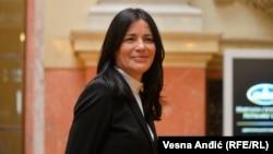 Jasmina Vasović, predsednica Vrhovnog kasacionog suda u Skupštini Srbije. 13. april 2021.