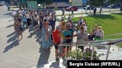 Maratonul vaccinării de la Causeni, 27 iulie2021