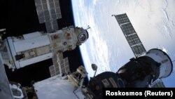 Російський багатофункціональний лабораторний модуль «Наука» пристикувався до станції 29 липня