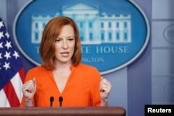 White House press secretary Jen Psaki (file photo)