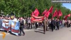Попри заклики про можливі провокації, понад тисячу сумчан вийшли на святковий парад
