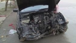 Kirov avtomobilini yandırmaq istədi