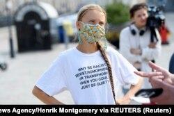 Грета Тунберг, июль 2021 года. Фото: Reuters