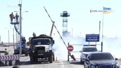 «Чонгар» на ремонте: что происходит на админгранице с Крымом (видео)