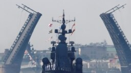 Репетиция парада ВМФ в Петербурге (архивное фото)