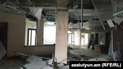 Nagorno-Karabakh - Aftermaths of a missile attack on the Stepanakert Maternity Hospital, 28Oct,2020