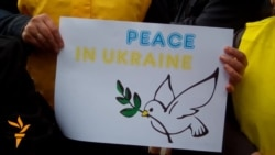 Ukrainians March For Peace In Dnipropetrovsk