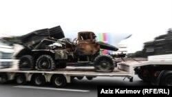 Пленено въоръжение от арменските войски