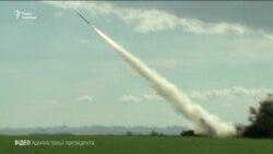 Порошенко взяв участь у запуску нової української ракети