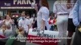 ABŞ-da türkmenler Belarusdaky protestçilere raýdaşlyk bildirdiler