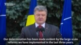 Poroshenko Says Ukraine To Meet NATO Standards By 2020
