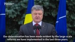 Poroshenko Says Ukraine To Meet NATO Standards By 2020