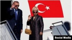 امینه اردوغان، همسر رئیس جمهور ترکیه، به علاقهاش به کیفهای گرانقیمت فرانسوی معروف است