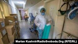 Реанімація інфекційного відділення Київської міської клінічної лікарні №9, 18 червня 2020 року
