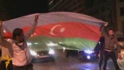 Baku Celebrates Eurovision Victory In Freedom Square